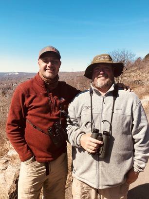 John Richardson (left) and Frank Nicoletti (right) by J Long 2